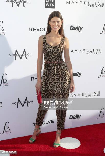 Model Bianca Balti attends the Daily Front Row's 3rd Annual Fashion Los Angeles Awards at Sunset Tower Hotel on April 2 2017 in West Hollywood...