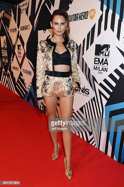 Model Bianca Balti attends the MTV EMA's 2015 at Mediolanum Forum on October 25 2015 in Milan Italy