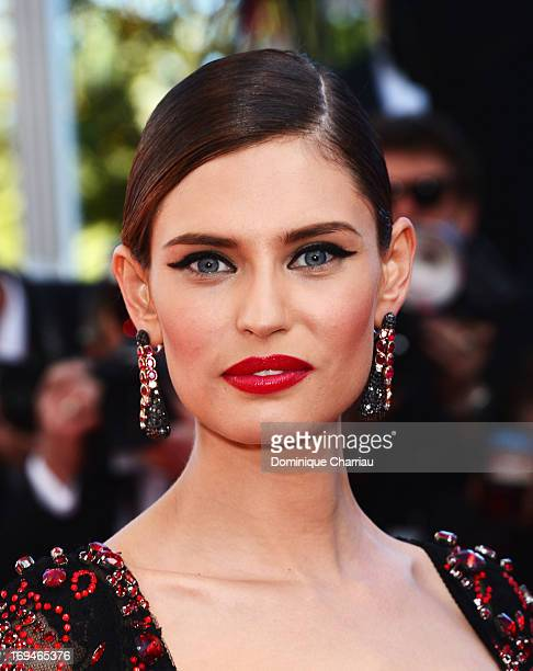 Model Bianca Balti attends the Premiere of 'La Venus A La Fourrure' during the 66th Annual Cannes Film Festival at the Palais des Festivals on May 25...