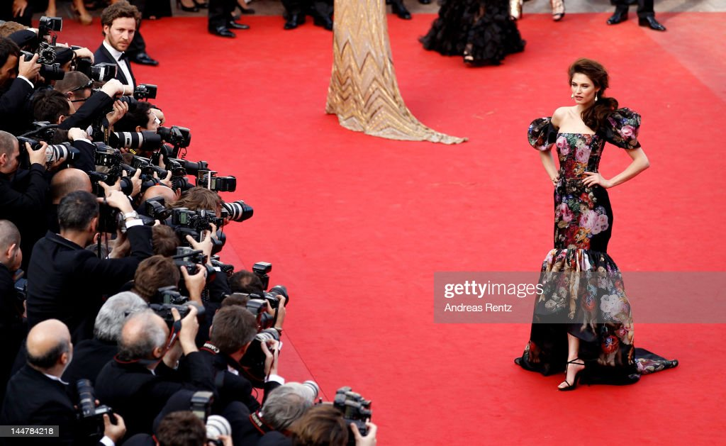 Model Bianca Balti attendss the 'Lawless' Premiere during the 65th Annual Cannes Film Festival at Palais des Festivals on May 19 2012 in Cannes France