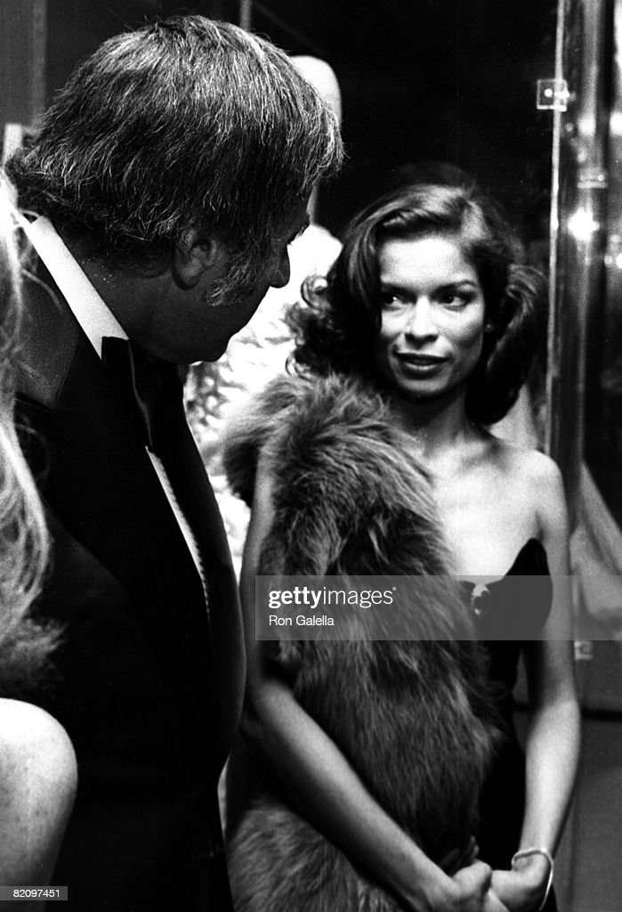 Model Bianca Jagger attending Diana Vreeland Costume Exhibit 'The Glory of Russian Costume' on December 6, 1976 at the Metroplitan Museum of Art in New York City, New York.