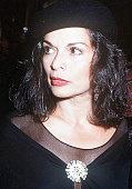 Model Bianca Jagger circa 1990
