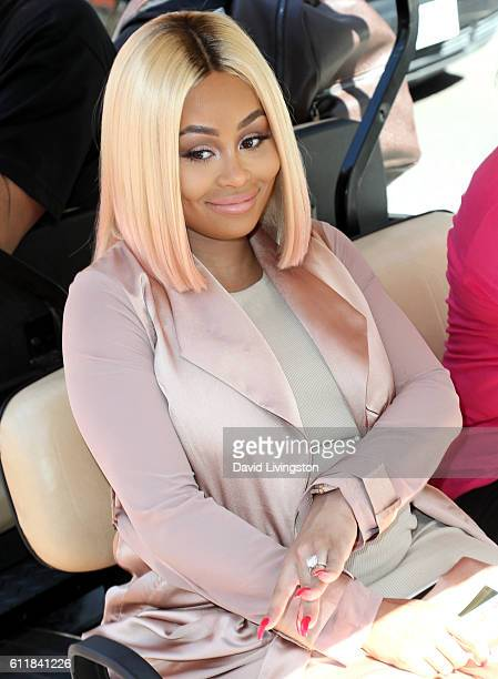 Model Blac Chyna attends the Amber Rose SlutWalk 2016 at Pershing Square on October 1 2016 in Los Angeles California