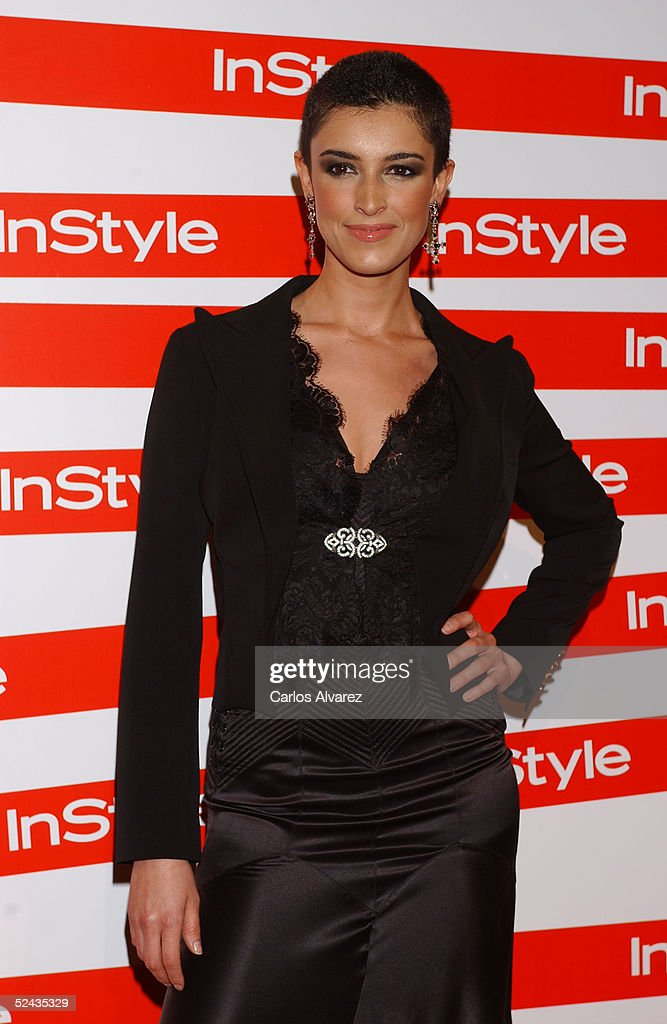 Model Blanca Romero attends the In Style Gala Dinner at La Riviera Club on March 16, 2005 in Madrid, Spain.