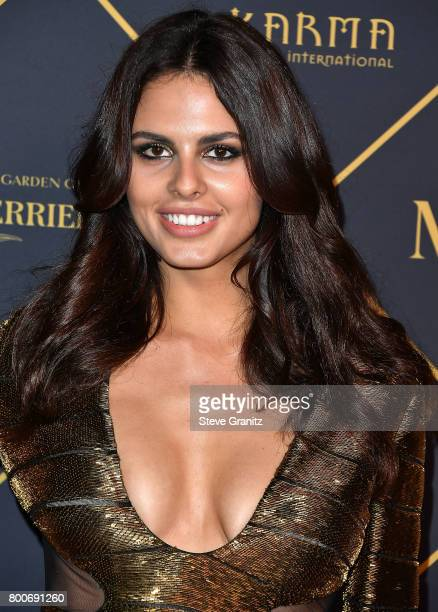 Model Bojana Krsmanovic arrives at the The 2017 MAXIM Hot 100 Party at Hollywood Palladium on June 24 2017 in Los Angeles California