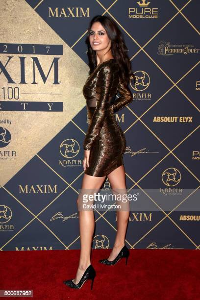 Model Bojana Krsmanovic attends The 2017 MAXIM Hot 100 Party produced by Karma International at The Hollywood Palladium in celebration of MAXIMÕs Hot...