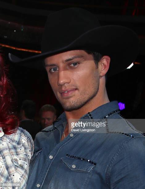 Model Bonner Bolton attends 'Dancing with the Stars' Season 24 premiere at CBS Televison City on March 20 2017 in Los Angeles California