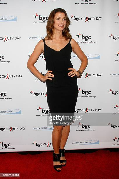 Model Bridget Moynahan attends Annual Charity Day Hosted By Cantor Fitzgerald And BGC at BGC Partners INC on September 11 2014 in New York City
