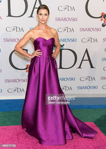 Model Bridget Moynahan attends the 2014 CFDA fashion awards at Alice Tully Hall Lincoln Center on June 2 2014 in New York City