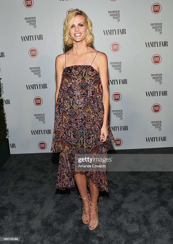 Model Brooklyn Decker arrives at the Vanity Fair and Fiat Toast to 'Young Hollywood' in support of the Terrence Higgins Trust at No Vacancy on...