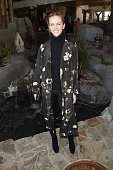 Model Brooklyn Decker attends Glamour's Women Rewriting Hollywood Lunch at Sundance Hosted By Lena Dunham Jenni Konner and Cindi Leive on January 26...