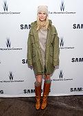 Model Brooklyn Decker attends Samsung Studio and Harvey Weinstein Host Annual Weinstein Sundance Bowl Football Party During The Sundance Film...