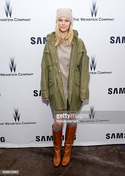 Model Brooklyn Decker attends Samsung Studio and Harvey Weinstein Host Annual Weinstein Sundance Bowl Football Party During The Sundance Film...
