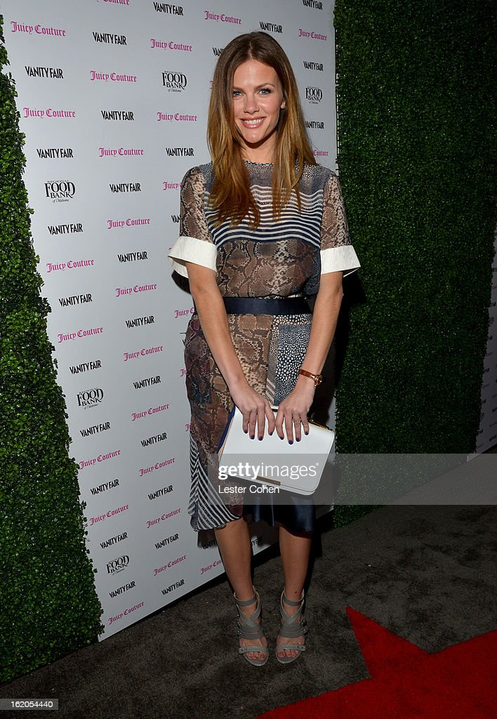 """Model Brooklyn Decker attends Vanity Fair and Juicy Couture's Celebration of the 2013 """"Vanities"""" Calendar hosted by Vanity Fair West Coast Editor Krista Smith and actress Olivia Munn in support of the Regional Food Bank of Oklahoma, a member of Feeding America, at the Chateau Marmont on February 18, 2013 in Los Angeles, California."""