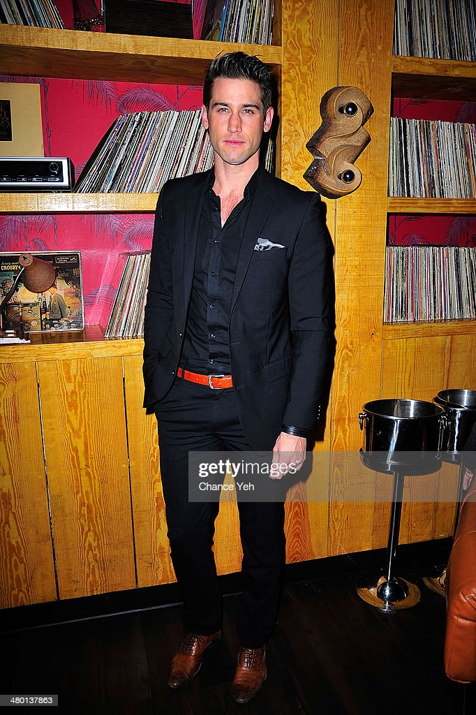Model Bryce Thompson attends 2nd Supermodel Saturday at No.8 on March 22, 2014 in New York City.