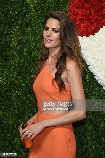 Model Cameron Russell attends God's Love We Deliver Golden Heart Awards at Spring Studio on October 15 2015 in New York City
