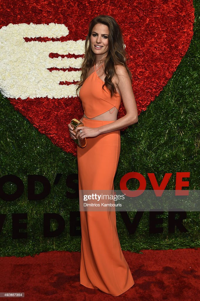 Model Cameron Russell attends God's Love We Deliver, Golden Heart Awards at Spring Studio on October 15, 2015 in New York City.