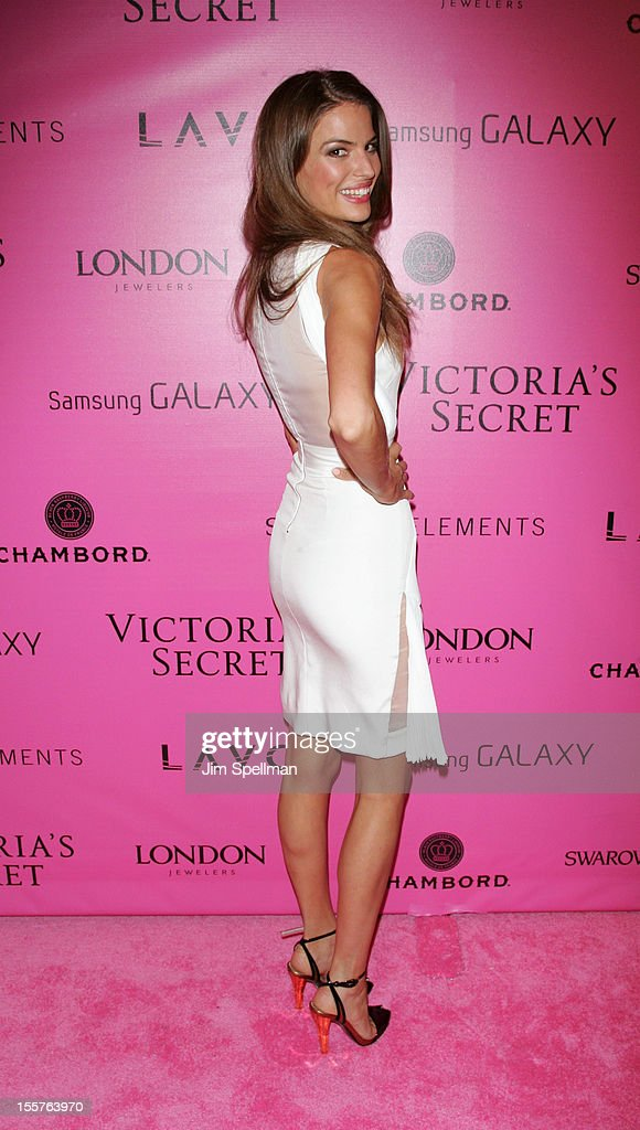 Model Cameron Russell attends the after party for the 2012 Victoria's Secret Fashion Show at Lavo NYC on November 7, 2012 in New York City.