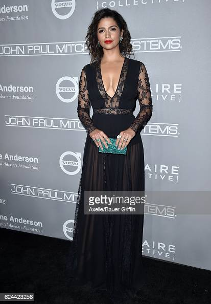 Model Camila Alves arrives at the 5th Annual Baby2Baby Gala at 3LABS on November 12 2016 in Culver City California