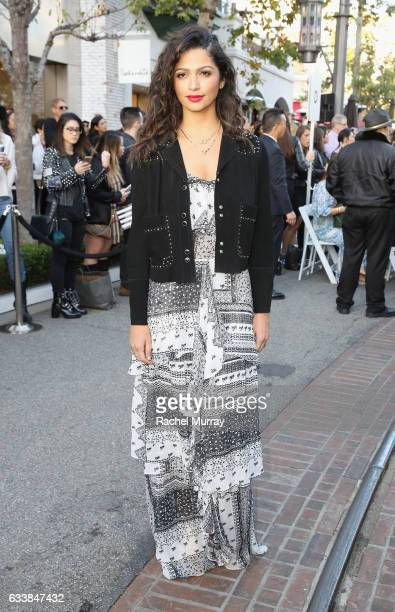 """Model Camila Alves attended designer Rebecca Minkoff's Spring 2017 """"See Now Buy Now"""" Fashion Show at The Grove on February 4 2017 in Los Angeles..."""