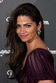 Model Camila Alves attends Dom Perignon party at the Duarte Palace on December 9 2014 in Madrid Spain