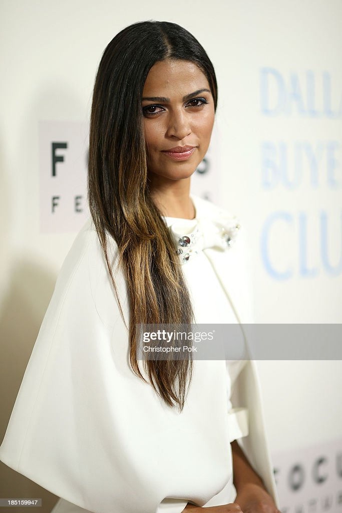 Model Camila Alves attends Focus Features' 'Dallas Buyers Club' premiere at the Academy of Motion Picture Arts and Sciences on October 17, 2013 in Beverly Hills, California.