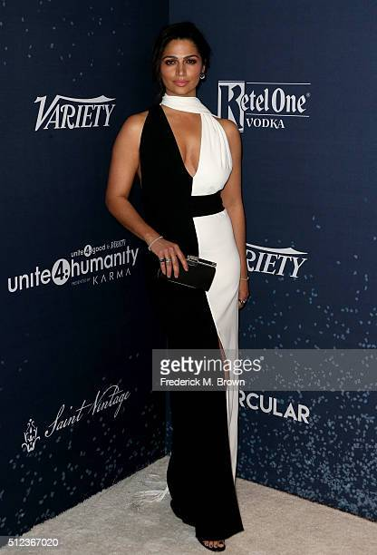Model Camila Alves attends the 3rd annual unite4humanity at Montage Beverly Hills on February 25 2016 in Beverly Hills California