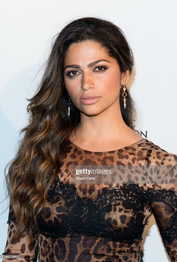 Model Camila Alves attends the The 2013 Novak Djokovic Foundation Dinner at Capitale on September 10, 2013 in New York City.