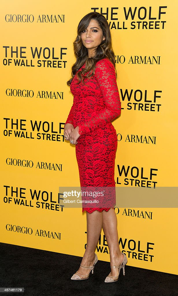 Model <a gi-track='captionPersonalityLinkClicked' href=/galleries/search?phrase=Camila+Alves&family=editorial&specificpeople=4501431 ng-click='$event.stopPropagation()'>Camila Alves</a> attends the 'The Wolf Of Wall Street' premiere at Ziegfeld Theater on December 17, 2013 in New York City.