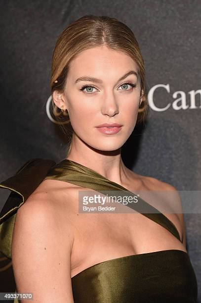 Model Camila Morrone attends Angel Ball 2015 hosted by Gabrielle's Angel Foundation at Cipriani Wall Street on October 19 2015 in New York City
