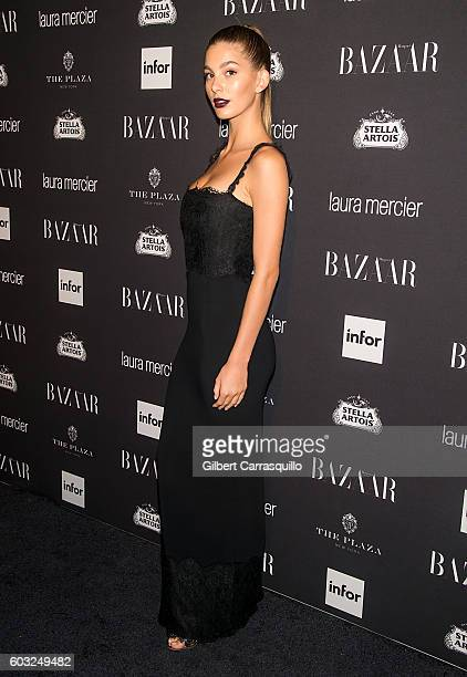Model Camila Morrone attends Harper's BAZAAR Celebrates 'ICONS By Carine Roitfeld' at The Plaza Hotel on September 9 2016 in New York City