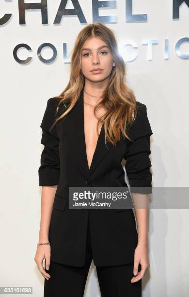Model Camila Morrone attends the Michael Kors Collection Fall 2017 runway show at Spring Studios on February 15 2017 in New York City