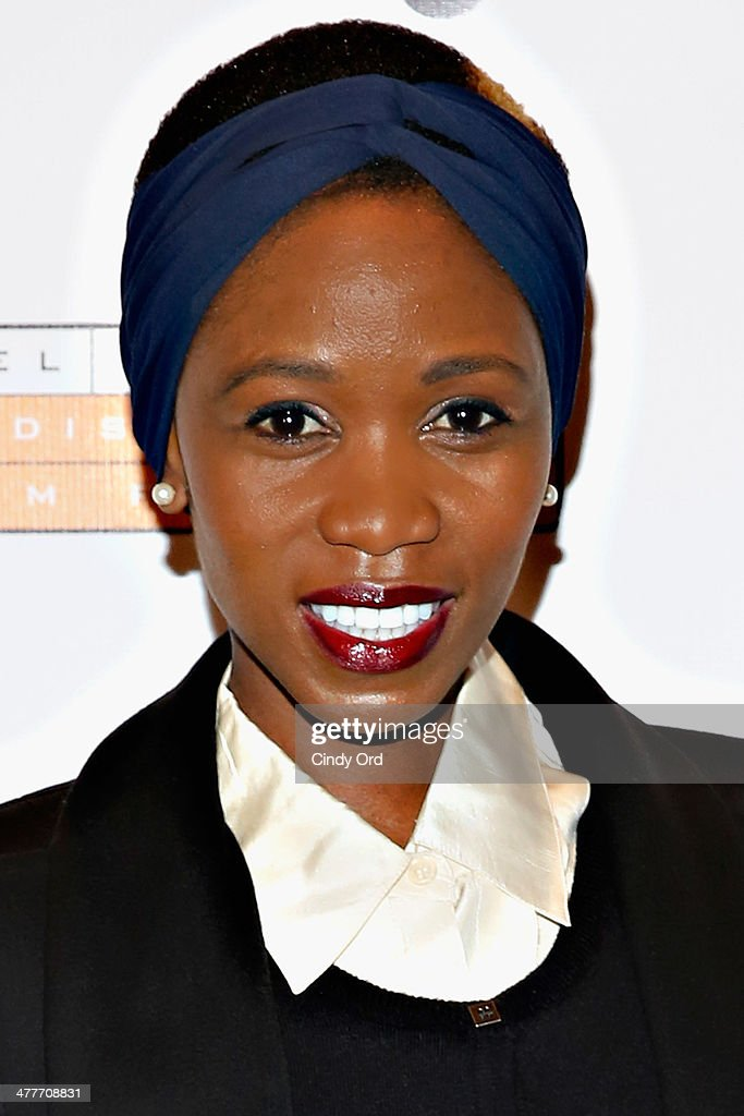 Model Camilla Barungi attends the 'A Whole Lott More' screening at JCC in Manhattan on March 10, 2014 in New York City.