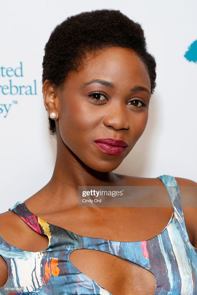 Model Camilla Barungi attends the Santa Project Party benefiting United Cerebral Palsy Of New York City at Bar Baresco on December 3, 2012 in New York City.