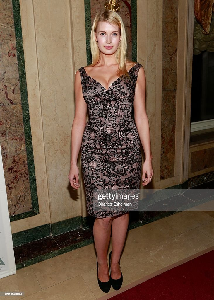 Model Camilla Hansen attends the 16th Annual ASPCA Bergh Ball at The Plaza Hotel on April 11, 2013 in New York City.