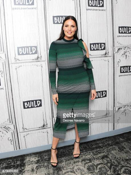 Model Candice Huffine attends Build Series to discuss her recent Women's Empowerment Efforts at Build Studio on April 25 2017 in New York City