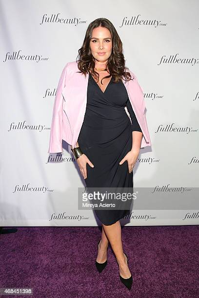 Model Candice Huffine attends FULLBEAUTY Celebration Of Women Event at Guastavino's on April 2 2015 in New York City