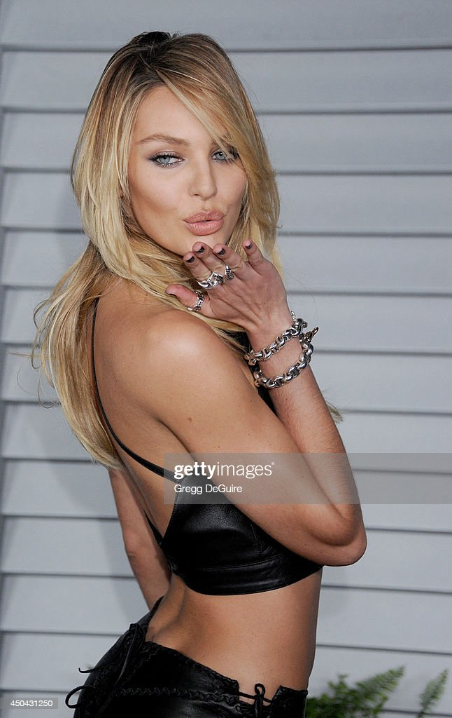 Model <a gi-track='captionPersonalityLinkClicked' href=/galleries/search?phrase=Candice+Swanepoel&family=editorial&specificpeople=4357958 ng-click='$event.stopPropagation()'>Candice Swanepoel</a> arrives at the MAXIM Hot 100 celebration event at Pacific Design Center on June 10, 2014 in West Hollywood, California.