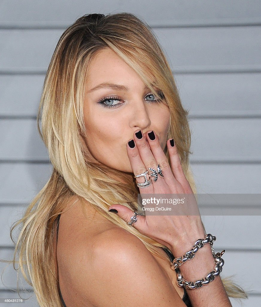 Model Candice Swanepoel arrives at the MAXIM Hot 100 celebration event at Pacific Design Center on June 10, 2014 in West Hollywood, California.