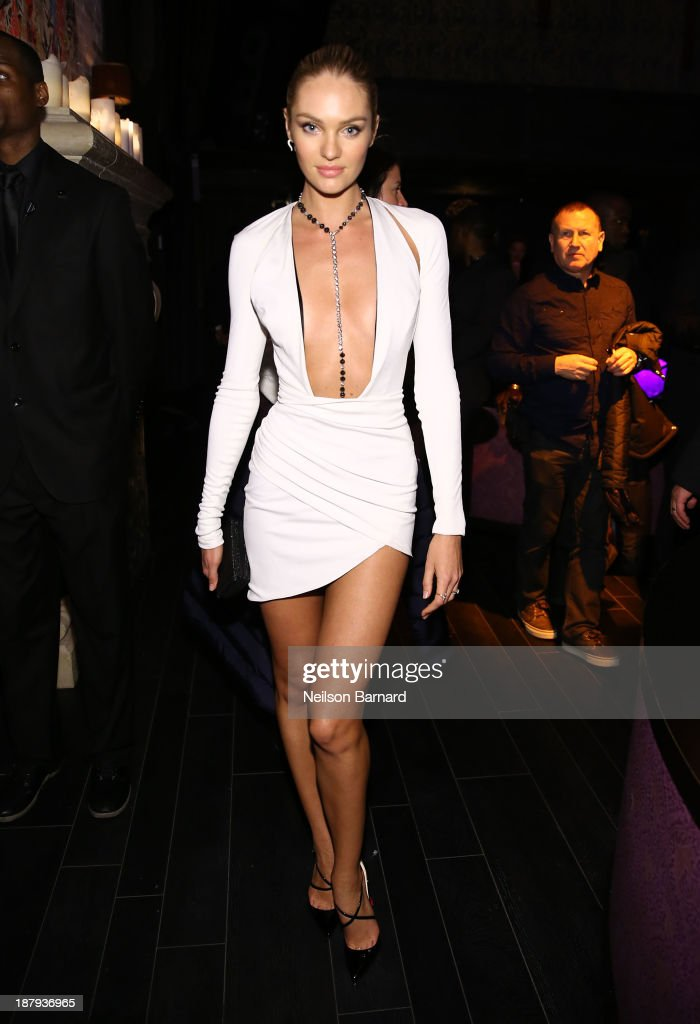 Model Candice Swanepoel attends the 2013 Victoria's Secret Fashion after party at TAO Downtown on November 13, 2013 in New York City.