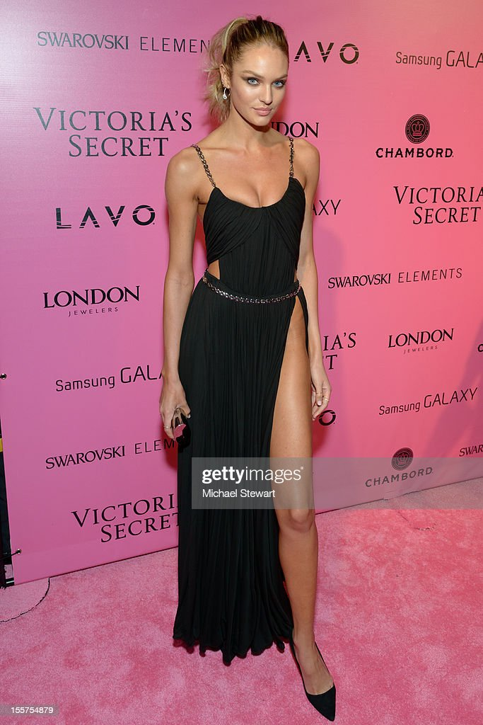 Model Candice Swanepoel attends the after party for the 2012 Victoria's Secret Fashion Show at Lavo NYC on November 7, 2012 in New York City.