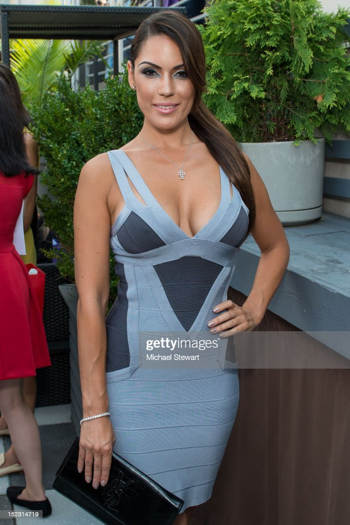 Model Carissa Rosario attends the Nautica Men's Presentation during Spring 2013 MercedesBenz Fashion Week at Empire Hotel Rooftop on September 7 2012...