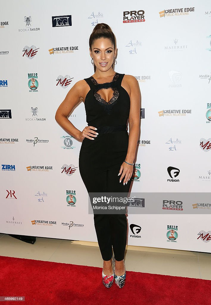 Model Carissa Rosarioo attends the 7th Annual Music Meets Fashion Event on January 30, 2014 in New York City.