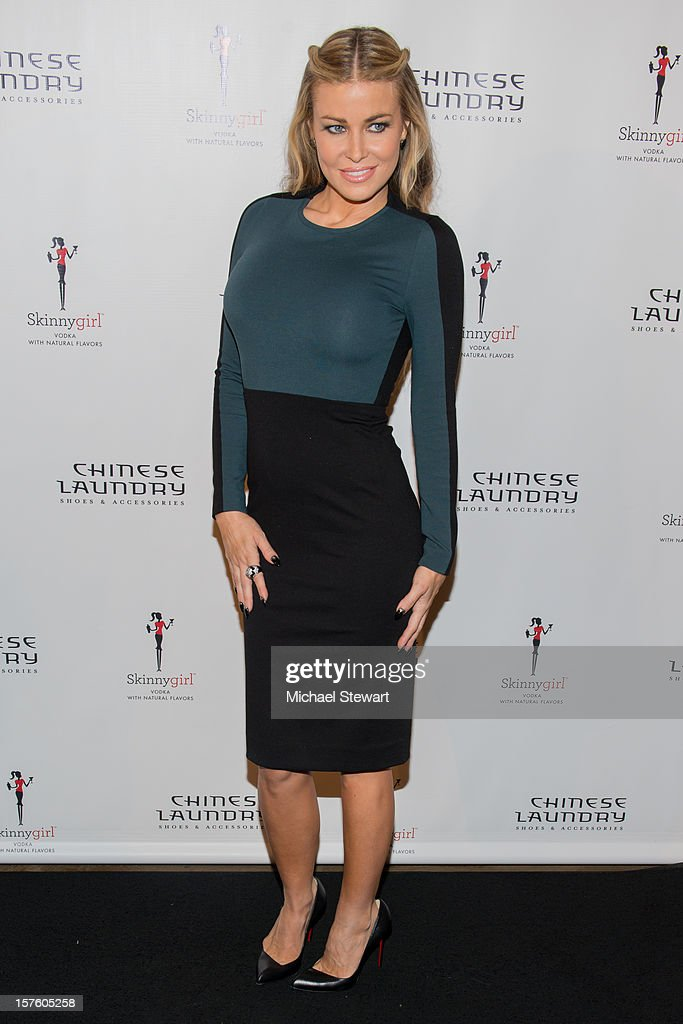 Model <a gi-track='captionPersonalityLinkClicked' href=/galleries/search?phrase=Carmen+Electra&family=editorial&specificpeople=171242 ng-click='$event.stopPropagation()'>Carmen Electra</a> attends Chinese Laundry by Kristin Cavallari Launch Party on December 4, 2012 in New York City.
