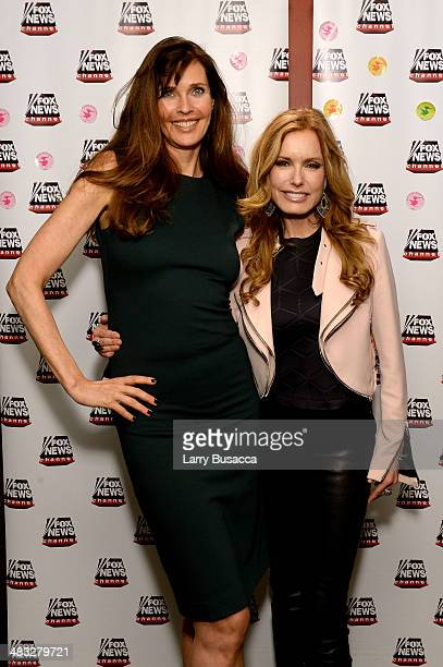 Model Carol Alt and Actress Tracey Bregman attend the 'A Healthy You Carol Alt' party at Pure Food and Wine on April 7 2014 in New York City