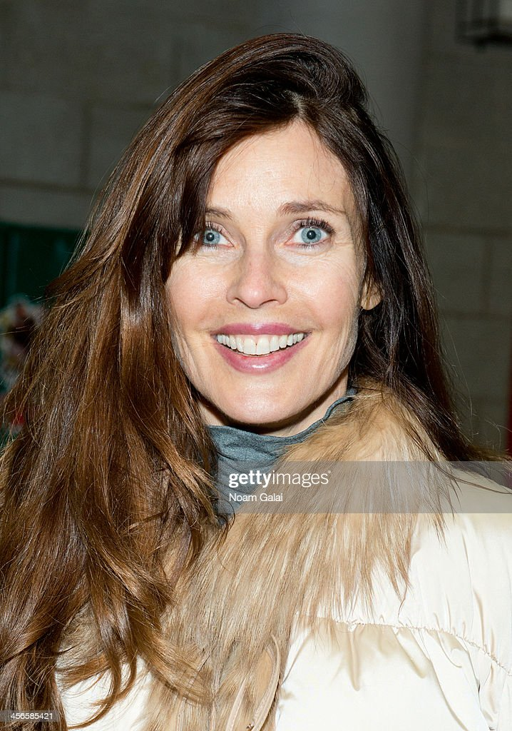 Model <a gi-track='captionPersonalityLinkClicked' href=/galleries/search?phrase=Carol+Alt&family=editorial&specificpeople=202034 ng-click='$event.stopPropagation()'>Carol Alt</a> attends the 2013 CitySightseeing New York holiday toy drive at PAL's Harlem Center on December 14, 2013 in New York City.