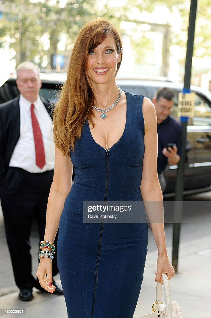 Model Carol Alt attends the annual charity day hosted by Cantor Fitzgerald and BGC at the BGC office on September 11, 2013 in New York City.