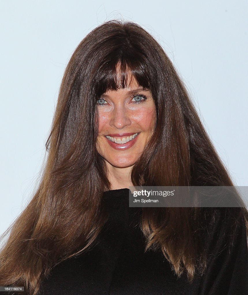 Model Carol Alt attends 'The Bible Experience' Opening Night Gala at The Bible Experience on March 19, 2013 in New York City.