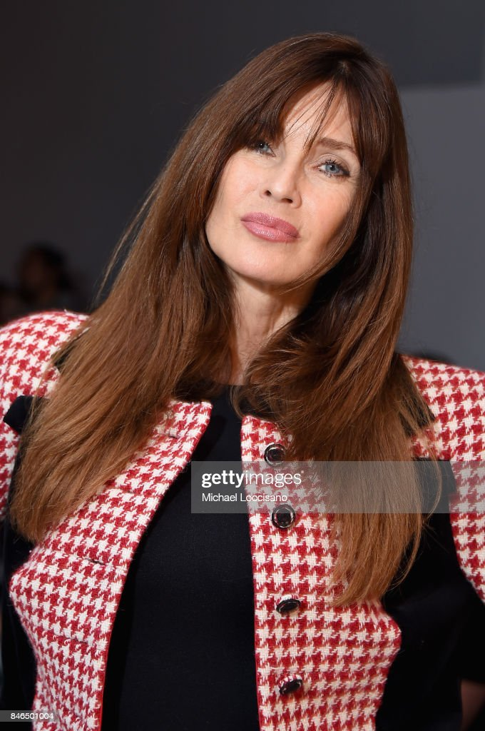 Model Carol Alt attends the Chocheng fashion show during New York Fashion Week: The Shows at Gallery 3, Skylight Clarkson Sq on September 13, 2017 in New York City.