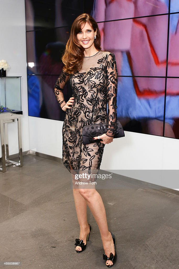 Model <a gi-track='captionPersonalityLinkClicked' href=/galleries/search?phrase=Carol+Alt&family=editorial&specificpeople=202034 ng-click='$event.stopPropagation()'>Carol Alt</a> attends the Dennis Basso Store Opening at Dennis Basso Store on December 10, 2013 in New York City.